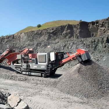 Fintec 10/80 Cone Crusher