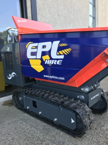1Ton Narrow Access Tracked Dumper