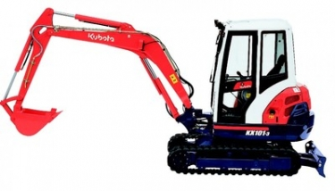 5T Mini Digger Zero Tail Swing